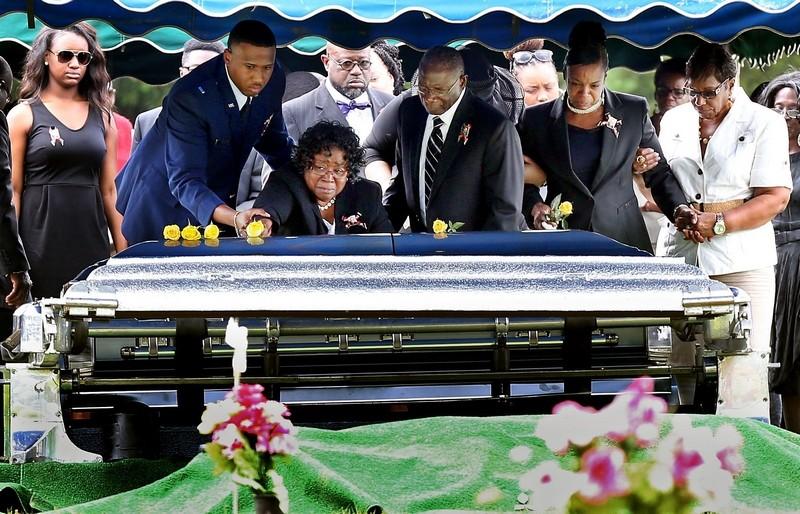 Jay Bias Funeral
