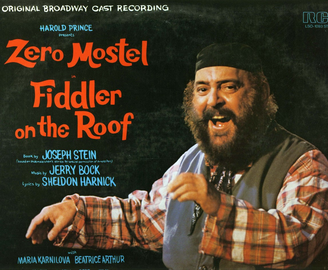 Image result for zero mostel in fiddler on the roof