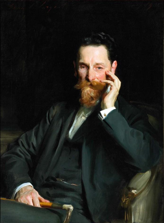 Portrait of Joseph Pulitzer by John Singer Sargent