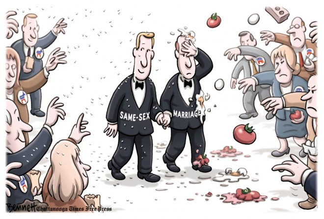 Clay Bennett of Chattanooga (TN) Times Free Press - The