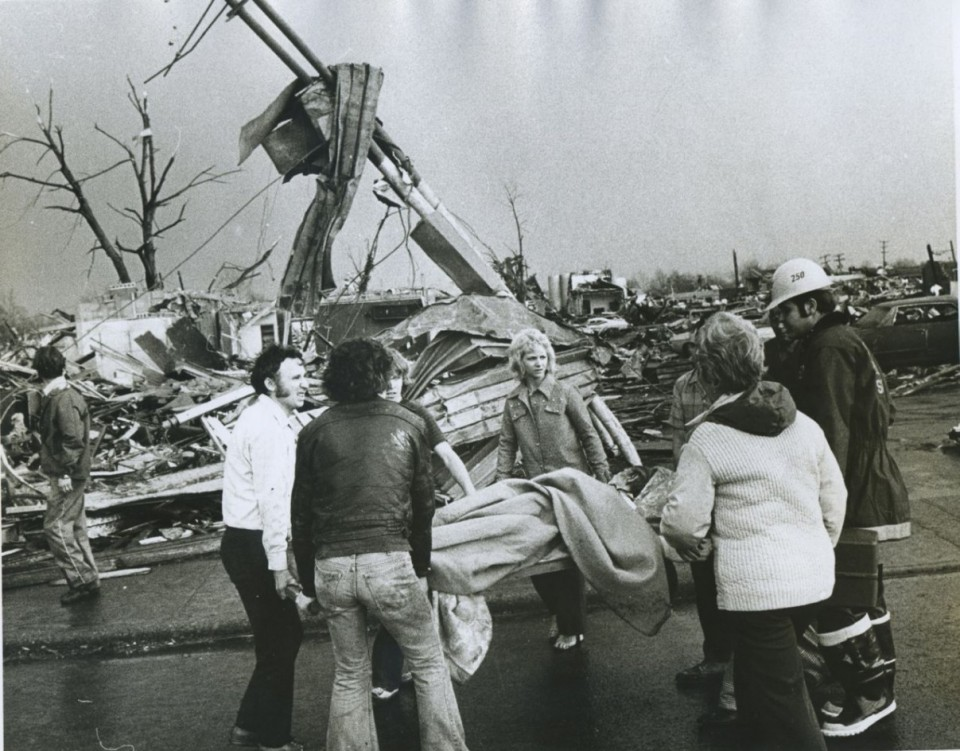 A devastating tornado unites a newsroom, and a community