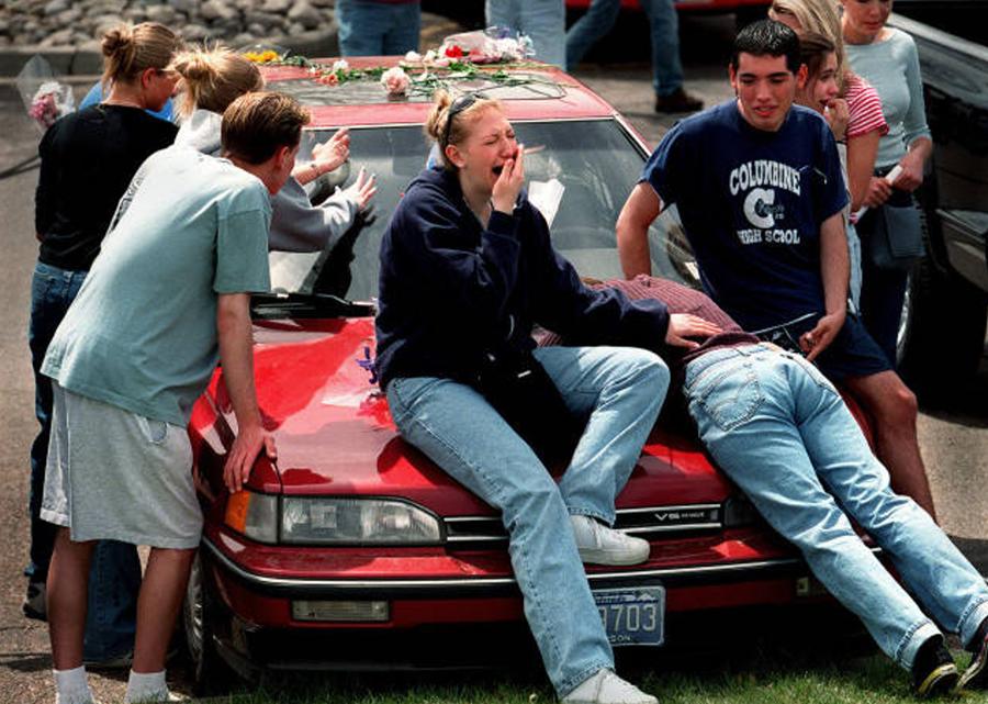 Columbine on 2000 Park Avenue Car
